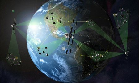 satellite earth quantum photon