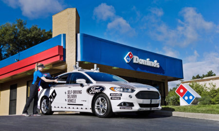 domino driverless ford