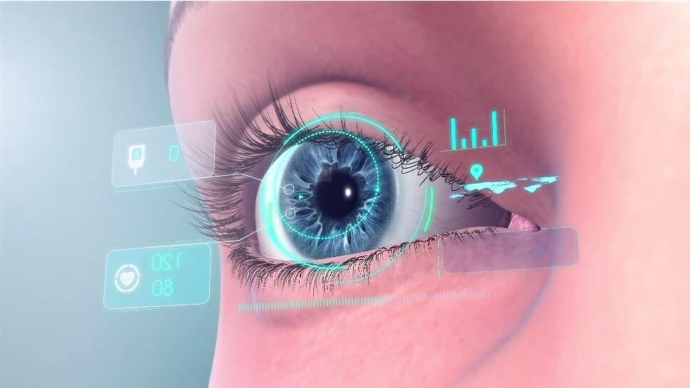 eye implant AR