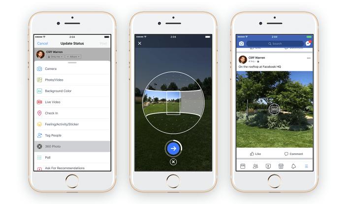 facebook 360 pictures