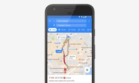 google maps parking space
