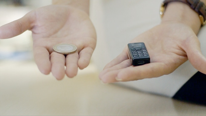 zanco tiny t1 world's smallest phones