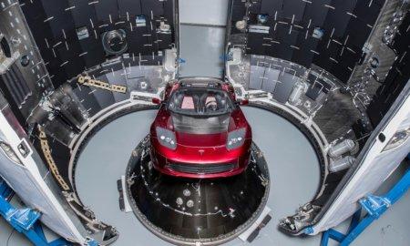 musk roadster space tesla roadster falcon heavy space launch
