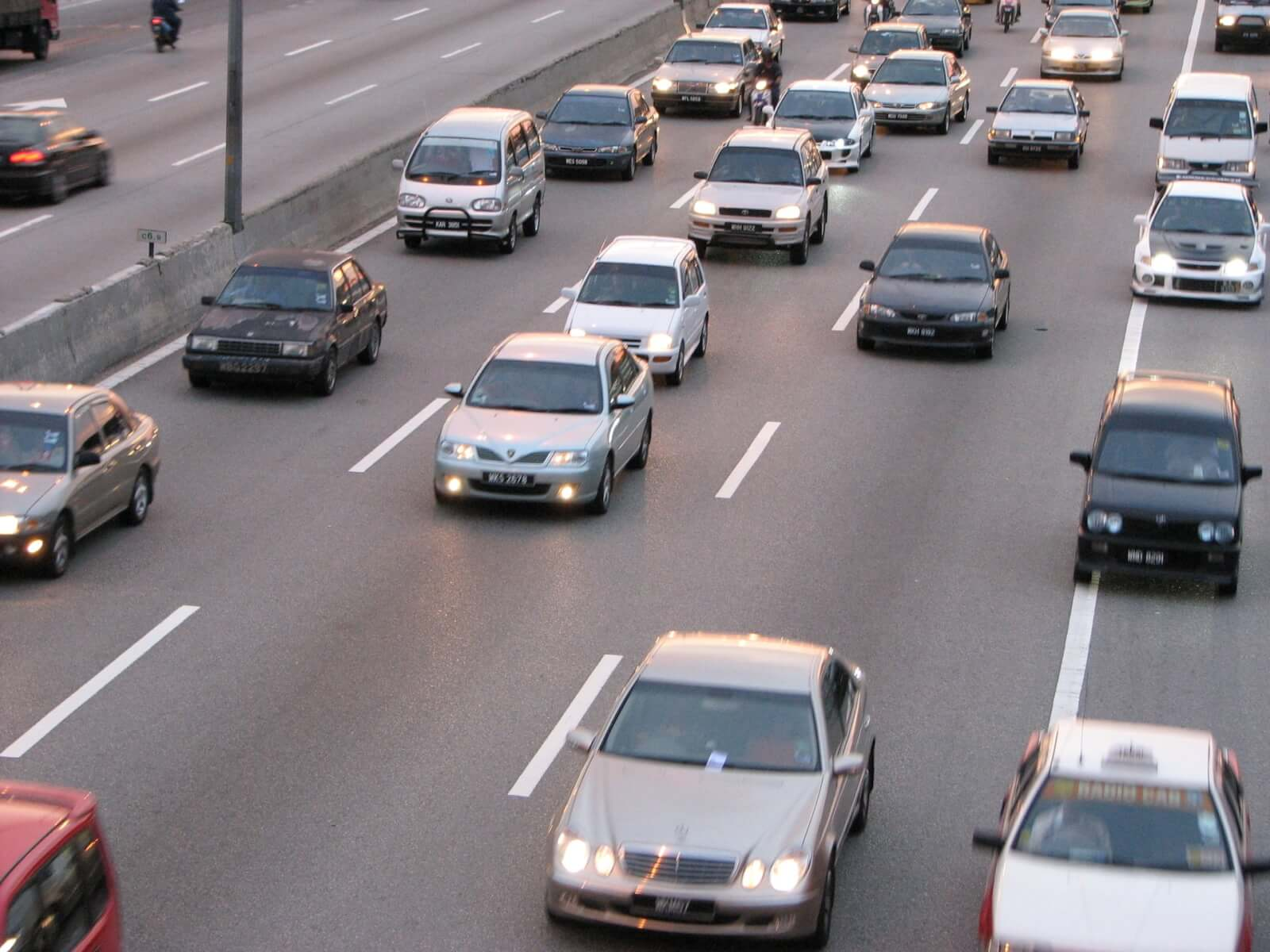 traffic self driving cars