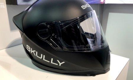 skully ar helmet ces 2018