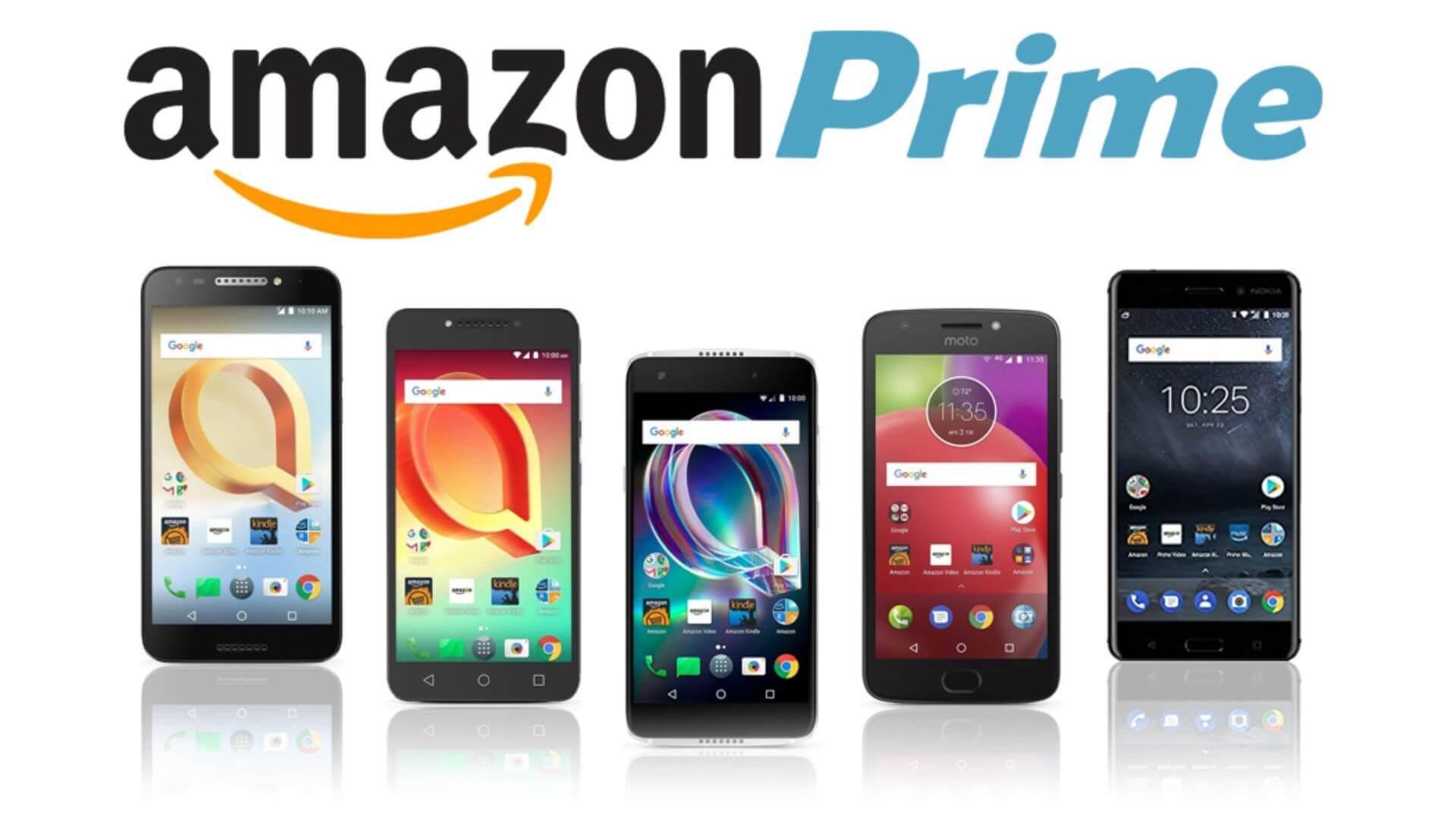 amazon prime exclusive phones