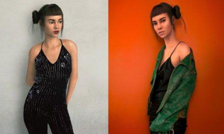 cgi fashion influencer