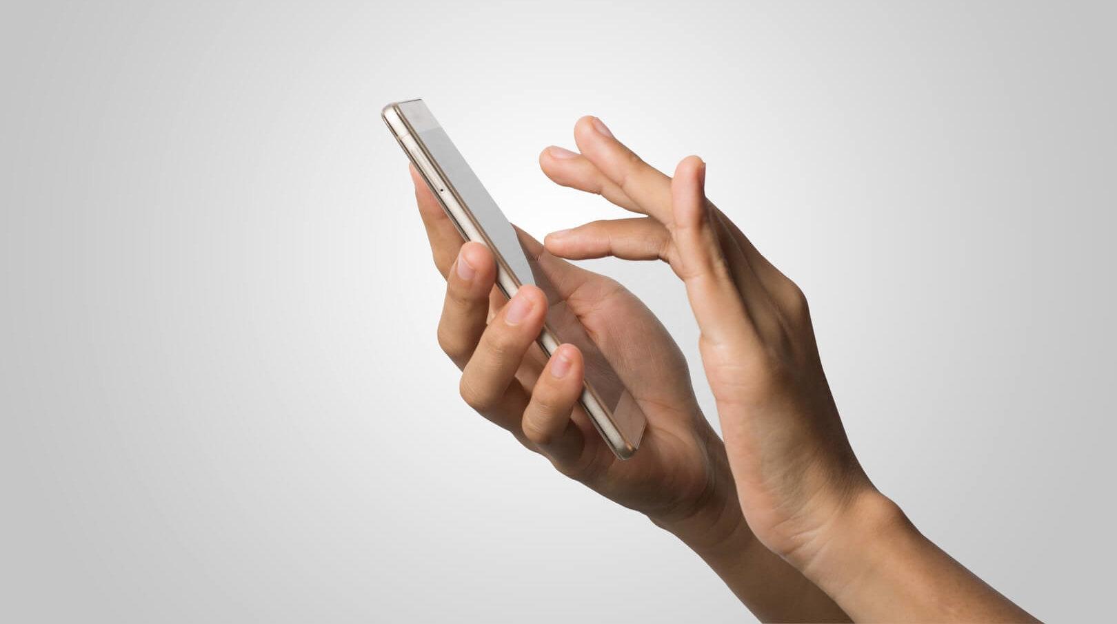 diamond glass smartphone