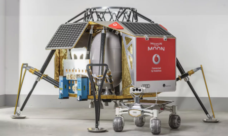 vodafone 4g on the moon space x nokia ptscientists quattro rover audi