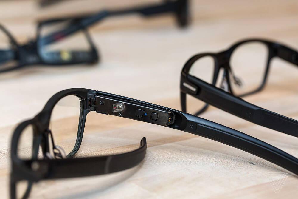 intel vaunt intel smart glasses wearables
