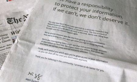 facebook apology cambridge analytica