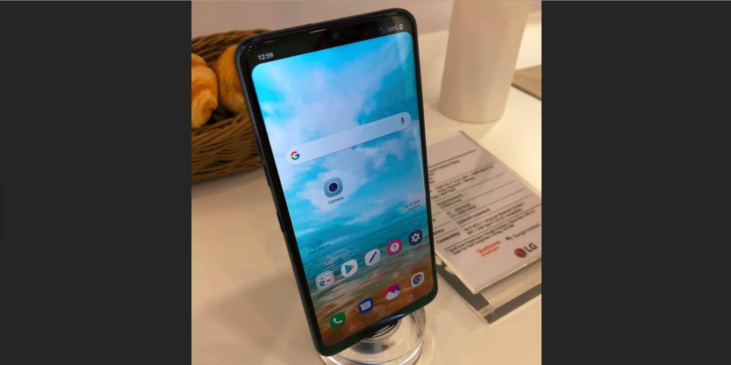 LG G7 leaked photos