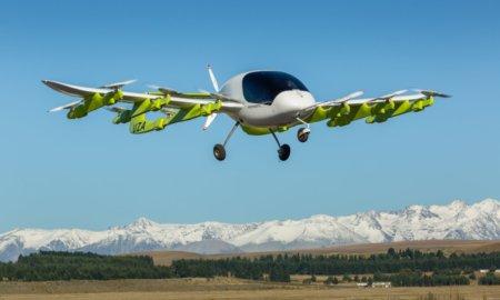 kitty hawk cora self-piloting aircraft flying taxi