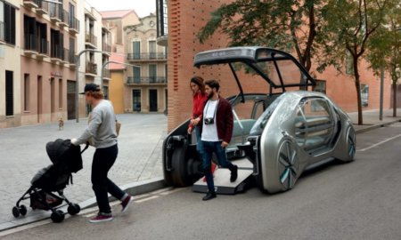 renault ez-go concept self driving electric car