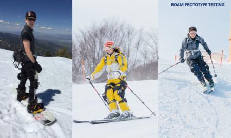 roam ski exoskeleton