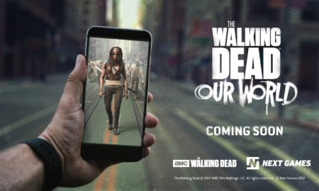 the walking dead ar game the walking dead our world augmented reality amc