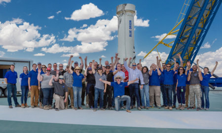 blue origin new shepard launch M8 Payloads