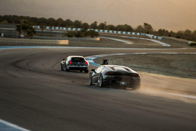 Incline Dynamic Outlet Lamborghini Huracán gyro-stabilized camera