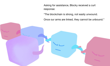 a place in the blockchain blockchain childrens book