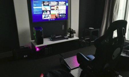 alienware hotel hilton panama gaming hotel room