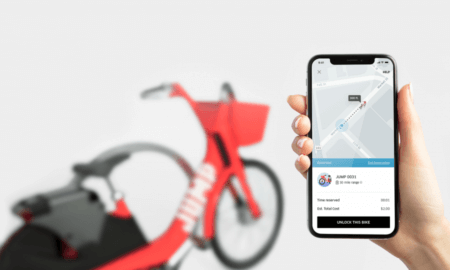 uber buys jump e-bike sharing