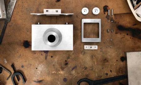 aluminum camera