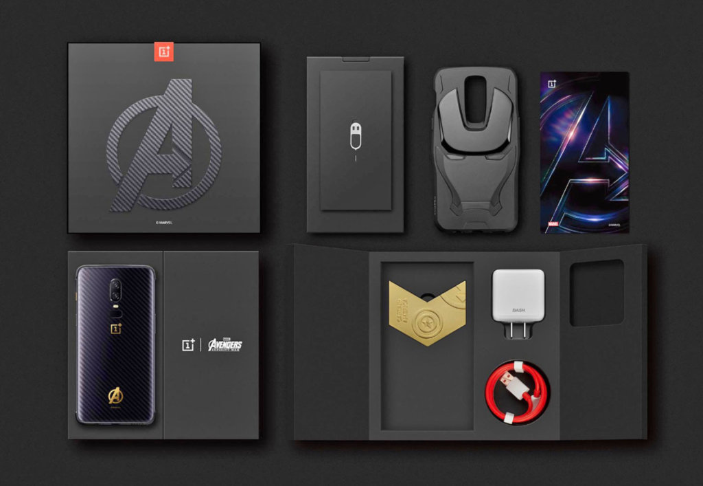oneplus 6 avengers edition price