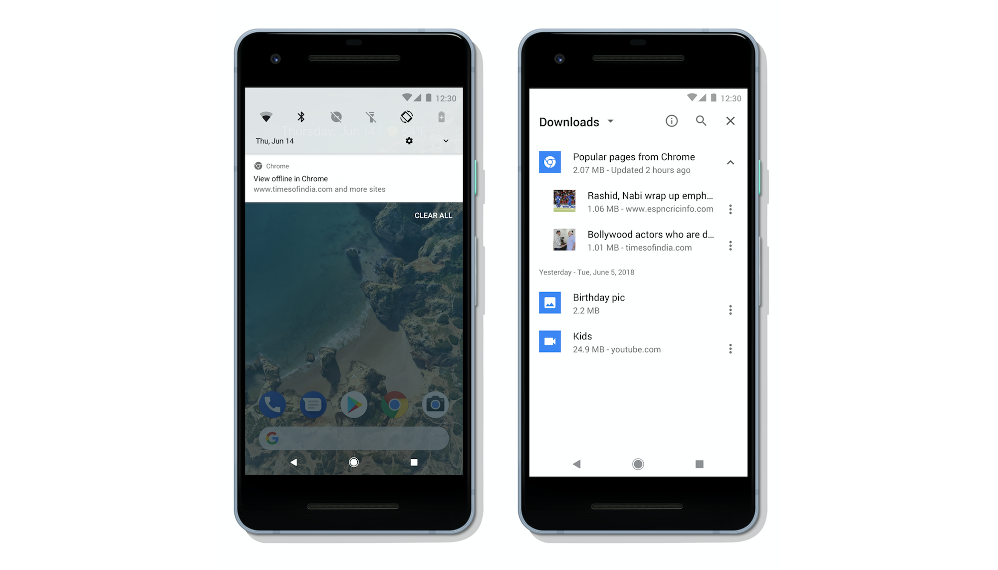 offline chrome for android