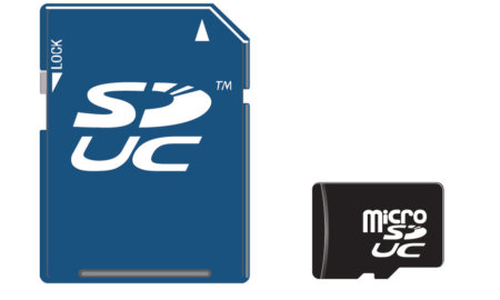 sd express standard cards
