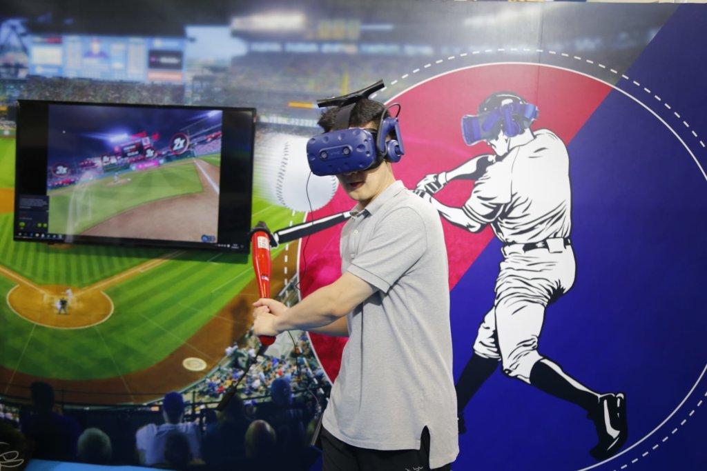 HTC Vive baseball mwc shanghai