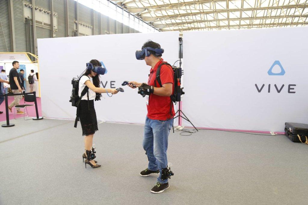 HTC vive multiplayer mwc shanghai