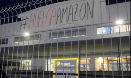amazon strike madrid CCOO