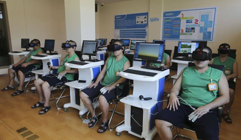 china vr rehab vr therapy drugs