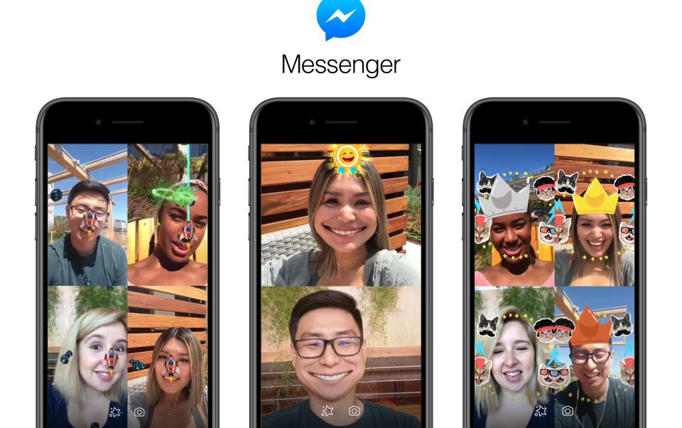 facebook messenger ar games