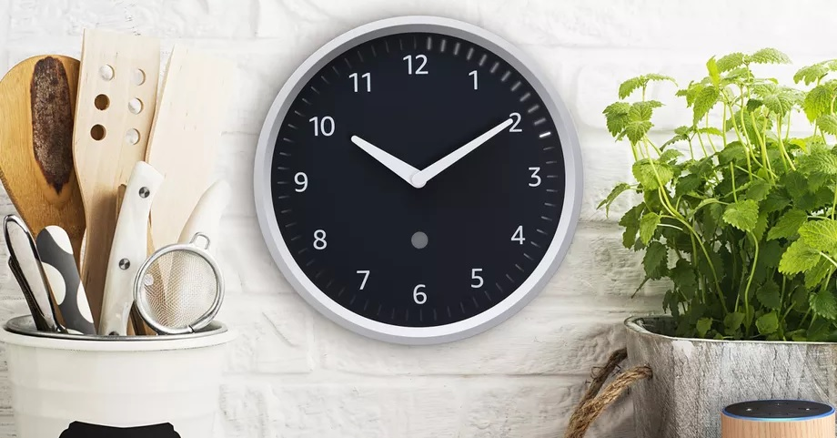 amazon Echo-Wall-Clock alexa
