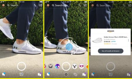 amazon-visual-search snapchat camera search on amazon