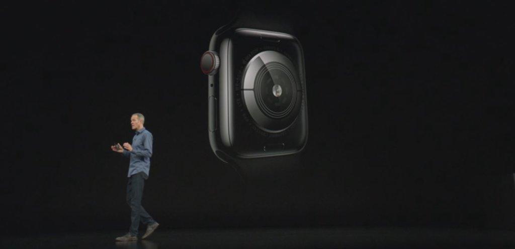 apple electrical heart sensor