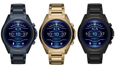 armani exchange connected smartwatch google wear os