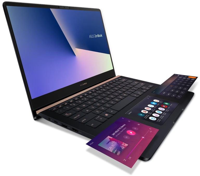 asus zenbook pro screenpad