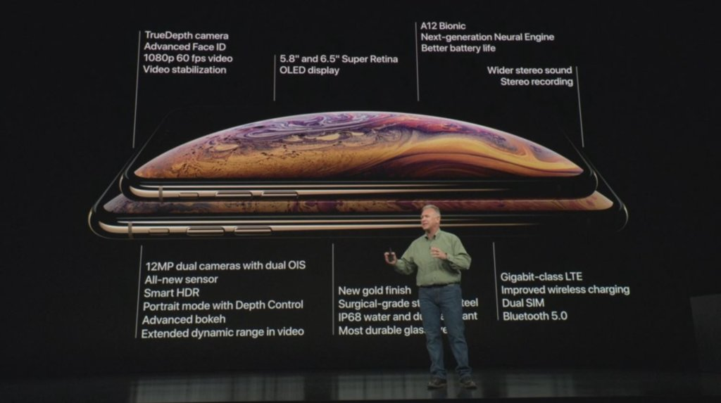 iphone x s iphone x max specifications