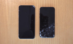 iphone-xs-vs-iphone-xs-max-drop-test-square-trade-durability test iphone