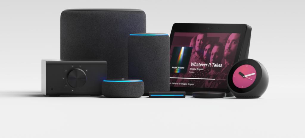 new amazon echo alexa devices