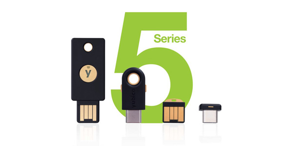 yubikey series 5 physical token without password