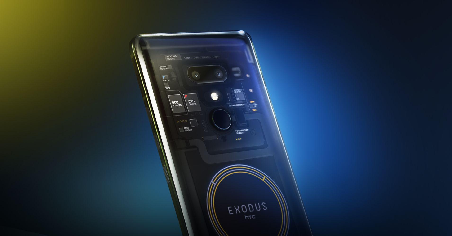 HTC-Exodus 1 blockchain smartphone