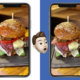 iphonexs facebook burger comparison