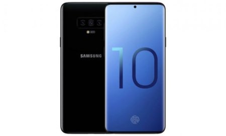 samsung galaxy s10 all-screen display concept renders