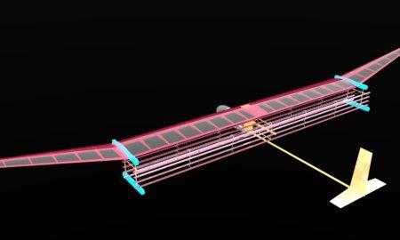 ion thrusters plane