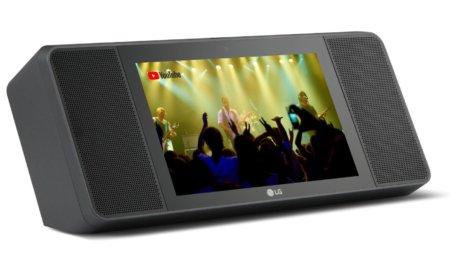 lg wk9 smart display lg xboom ai thinq smart display wk9