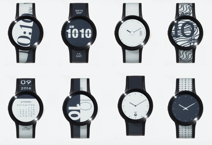 sony fes watch u e-paper watch
