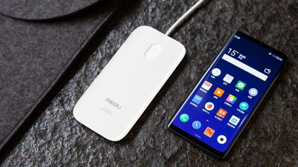 meizu zero 18w wireless charging 2